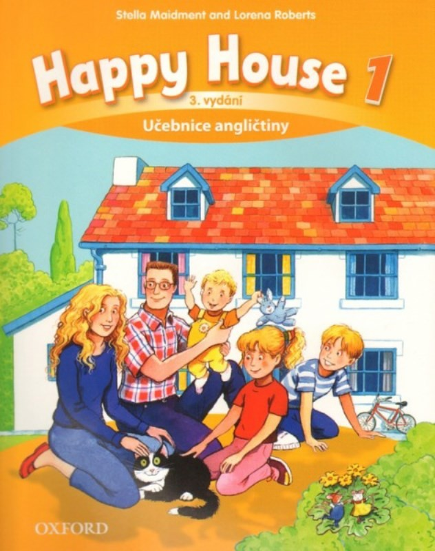 OXFORD Happy House 1 Third edition - Učebnice angličtiny