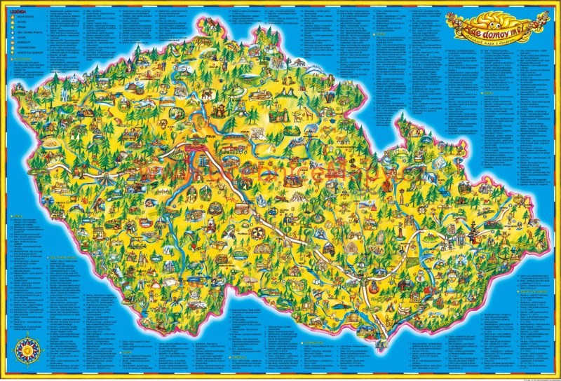 Detska Mapa Cr 119 X 83 Cm Ucebnicemapy Cz