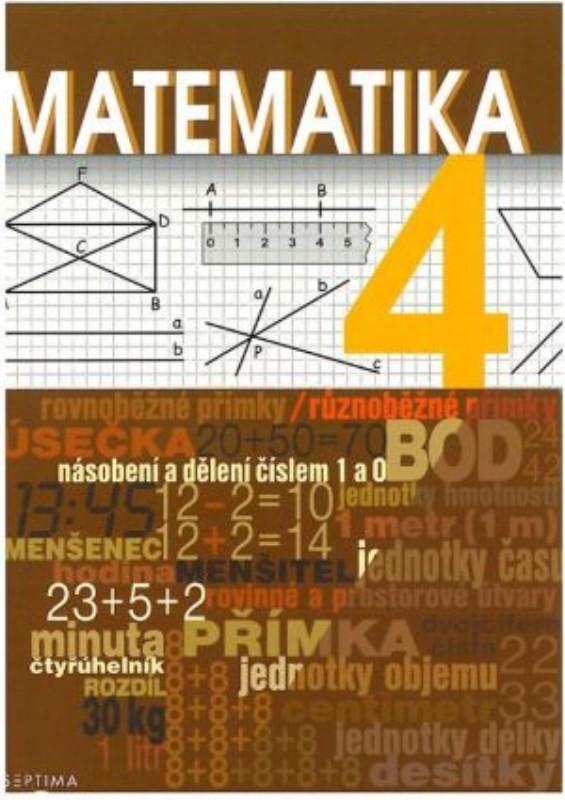 Septima Matematika pro 4. ročník ZŠ praktické - Učebnice