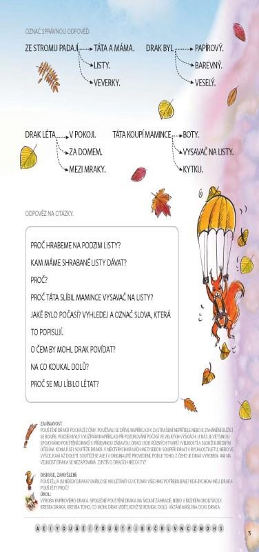 FRAGMENT Čítanka - Velká tiskací písmena pro 1.r. ZŠ