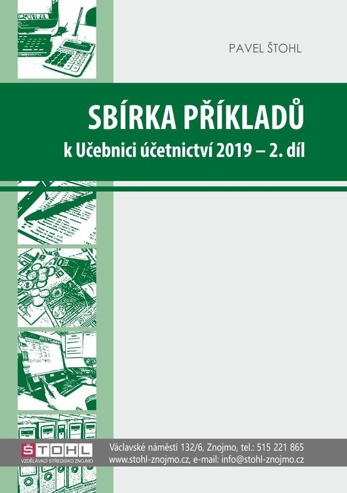 Sbírka příkladů k Učebnici účetnictví 2019-2.díl - Náhled učebnice