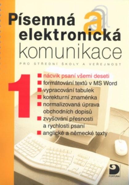 Písemná a elektronická komunikace 1 - Náhled učebnice