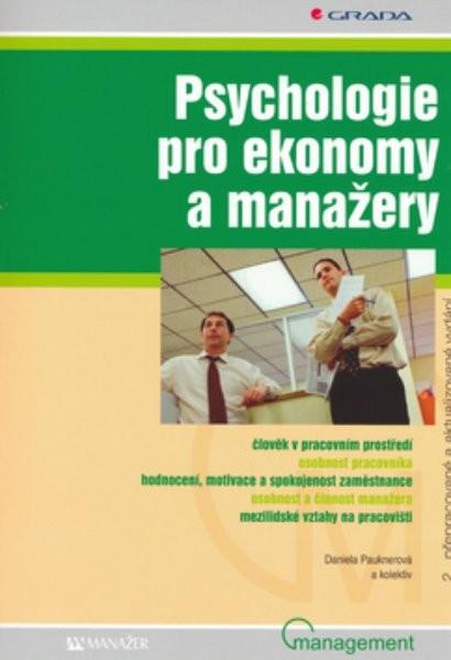 Psychologie pro ekonomy a manažery - Náhled učebnice