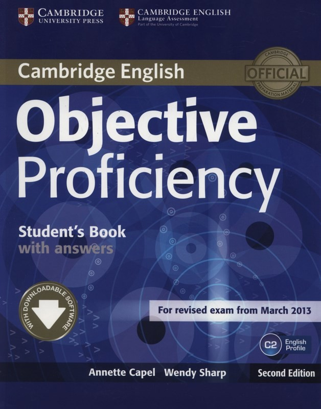 Objective Proficiency Student's Book with Answers with Downloadable Software, 2 ed - Náhled učebnice