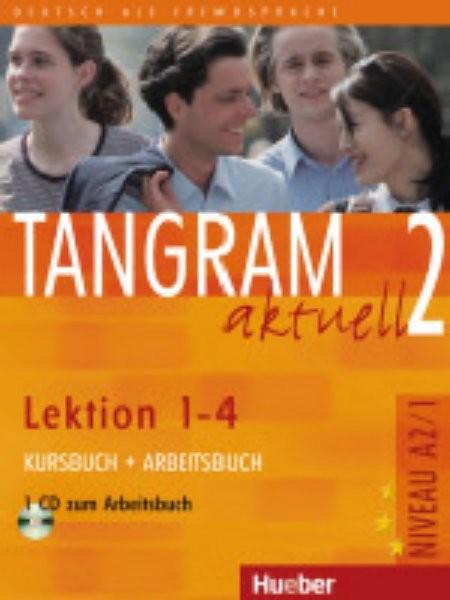 Tangram aktuell 2: Kursbuch + Arbeitsbuch (Lektion 1–4) - Náhled učebnice