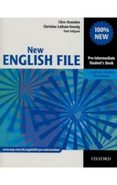 New English File: Pre-Intermediate (Student's Book) - Náhled učebnice