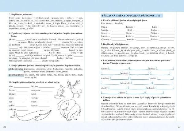 Cesky Jazyk 5 Nove Pracovni Sesit Pro 5 R 1 Dil Ucebnicemapy Cz
