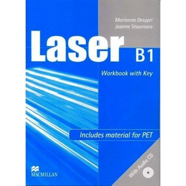 Laser B1 NEW EDITION Workbook with key+ CD (pracovní sešit s klíčem)
