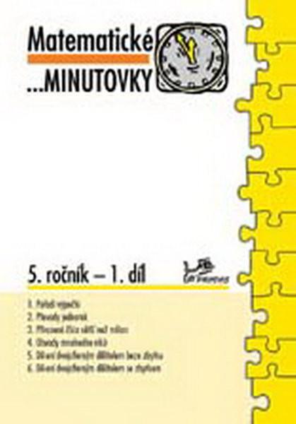 e3767aeebae Matematické minutovky 5.r. - 1.díl - UčebniceMapy.cz