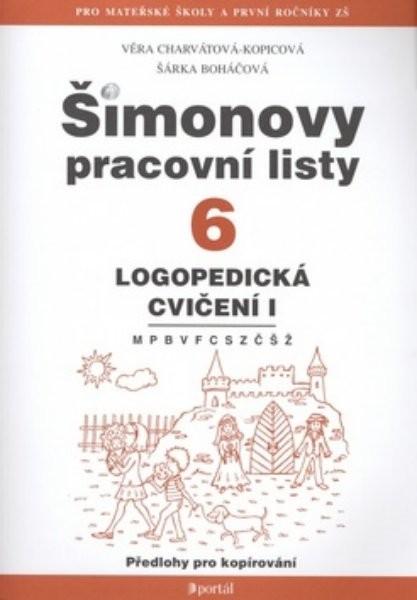 Simonovy Pracovni Listy 6 Logopedicka Cviceni I Ucebnicemapy Cz