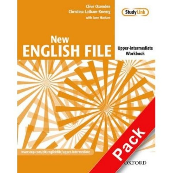 New English File Upper-Intermediate Workbook - Náhled učebnice