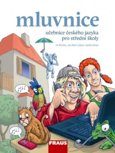 Mluvnice: učebnice českého jazyka pro střední školy - Náhled učebnice