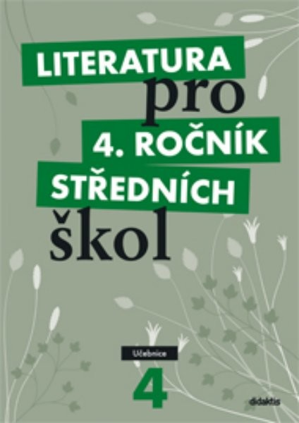 Literatura pro 4. ročník středních škol - učebnice - Náhled učebnice