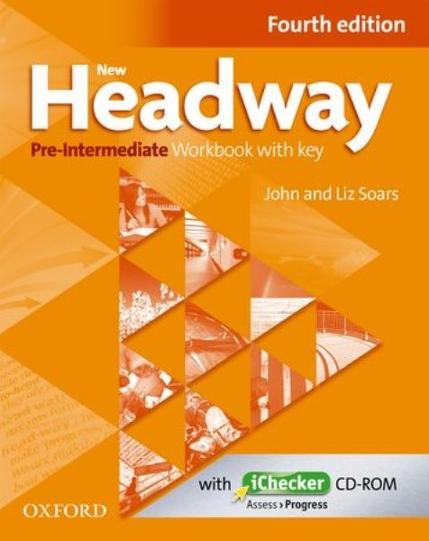 New Headway: Pre-Intermediate Fourth Edition: Workbook + iChecker with Key - Náhled učebnice