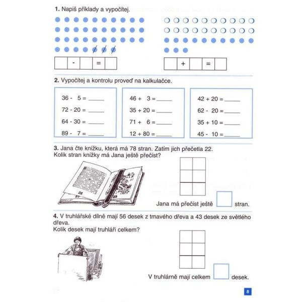 Procvicujeme Pocitani 4 Pracovni Listy Pro 10 R Zakladni Skoly