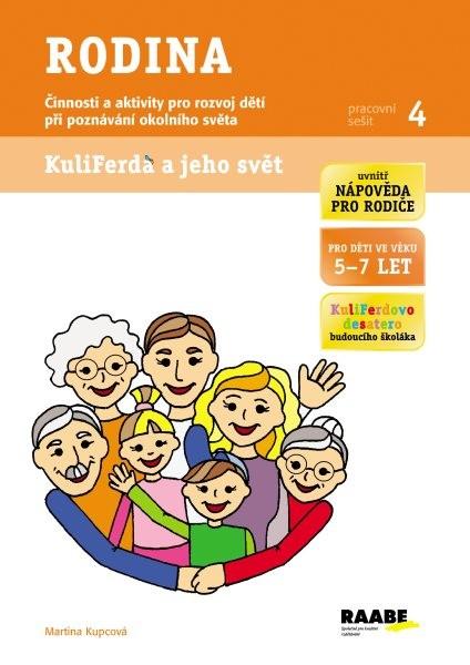 Raabe Rodina - pracovní sešit 4 (Kuliferda a jeho svět)