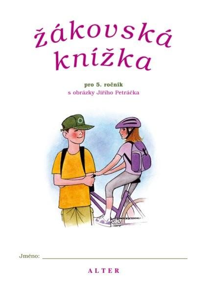Žákovská knížka pro 5.ročník ZŠ