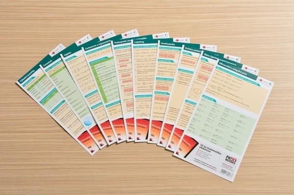 Edice KOMPAS - komplet 10 kartiček (Matematika)