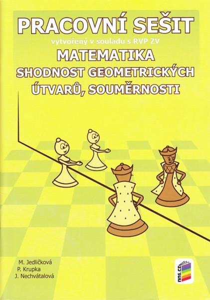 Matematika 7.r. - Shodnost geometrických útvarů, souměrnosti (pracovní sešit)