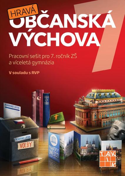 Hravá občanská výchova 7 - Pracovní sešit pro 7.r. ZŠ