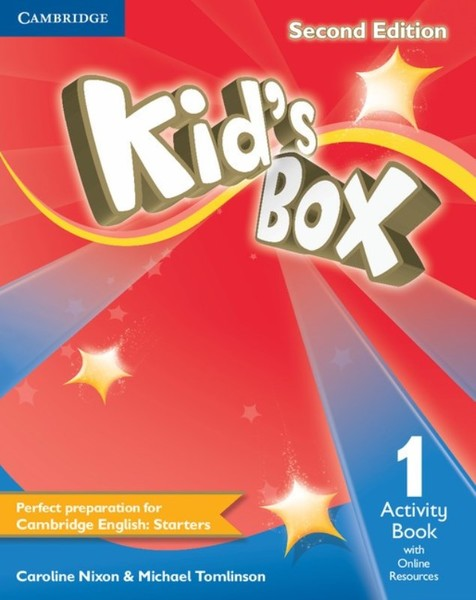 Kid's Box Level 1 Activity Book with Online Resources (pracovní sešit)