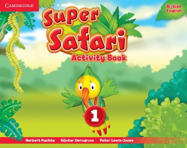 Super Safari Level 1 Activity Book (pracovní sešit)