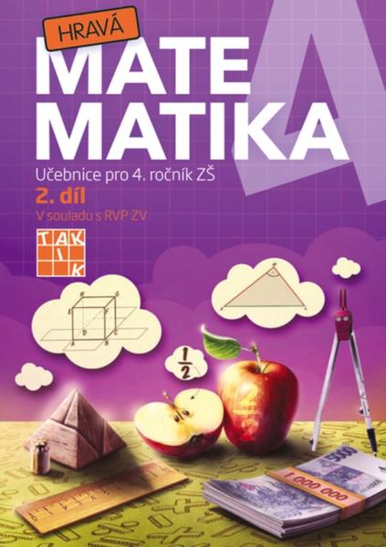 Hravá matematika 4.r. 2.díl (učebnice)