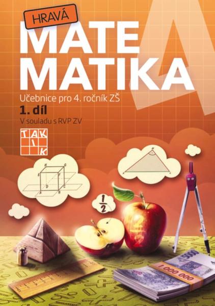 Hravá matematika 4.r. 1.díl (učebnice)