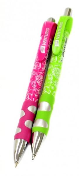 Kuličkové pero Venturio - růžové