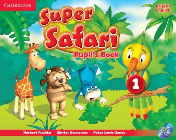 Super Safari Level 1 Pupil's Book with DVD-ROM (učebnice)