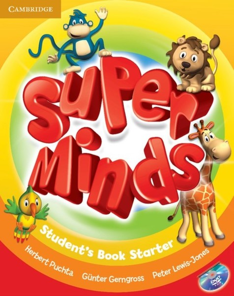 Super Minds Starter Student's Book with DVD-ROM (učebnice)