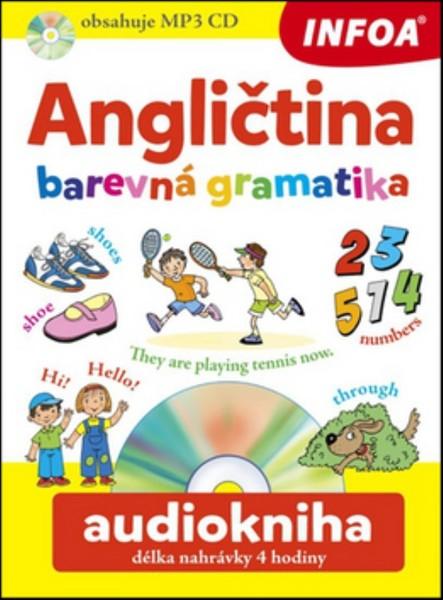 Angličtina - barevná gramatika + CD