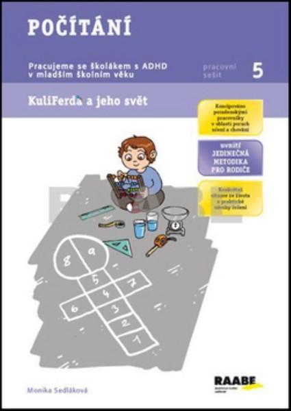 Počítání - Pracujeme se školákem s ADHD v mladším školním věku