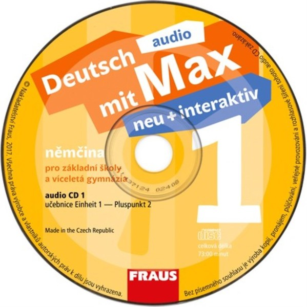 Deutsch mit Max neu + interaktiv 1 Audio CD