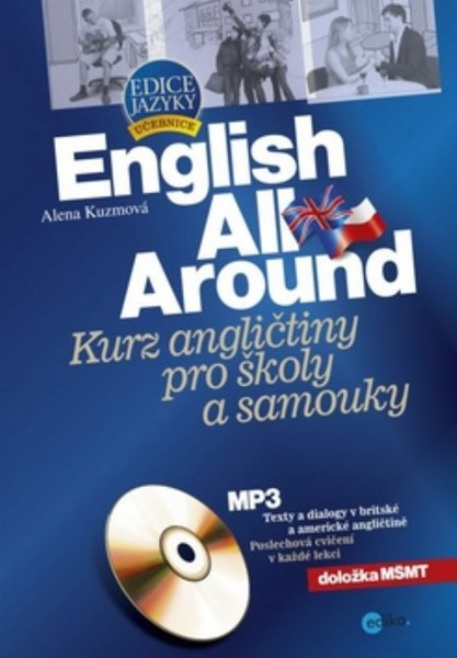English All Around - Kurz angličtiny pro školy a samouky + CD MP3