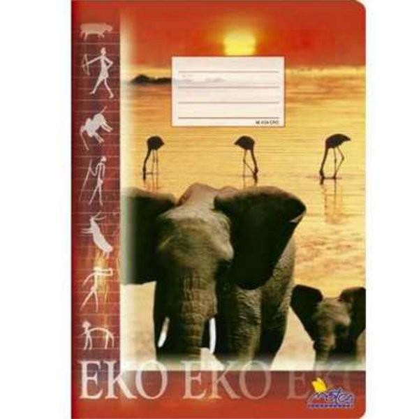 Sešit 424 - A4, 20 listů, linkovaný