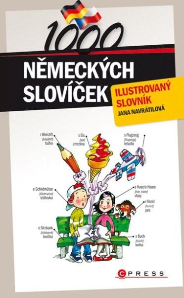 1000 německých slovíček - ilustrovaný slovník