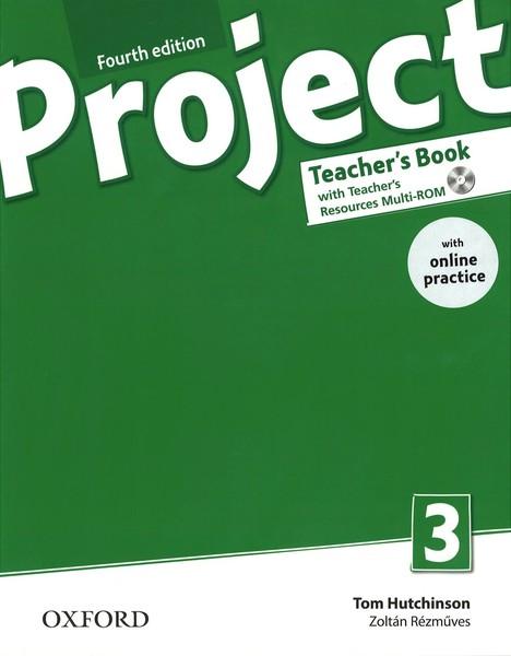 Project 3 Fourth Edition - Teacher´s Book with Online Practice (čtvrté vydání)