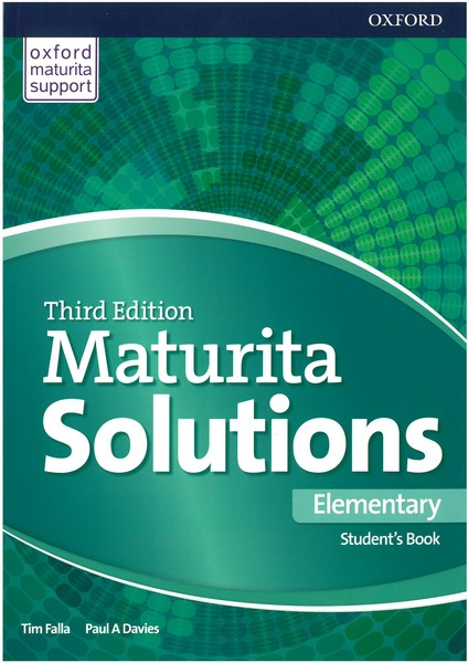 Maturita Solutions 3rd Edition Elementary Student's Book (Czech Edition)