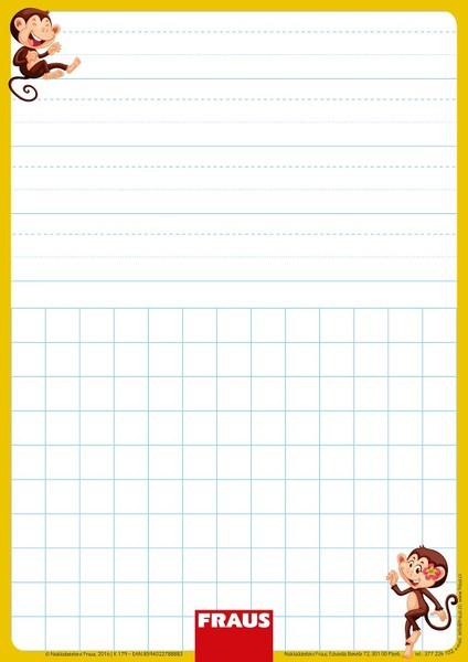 Stíratelná tabulka pro 1. ročník - vázané písmo