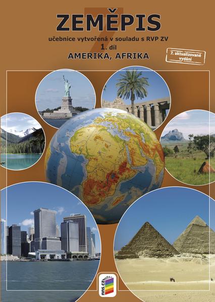 Zeměpis 7. r. 1. díl - Amerika, Afrika