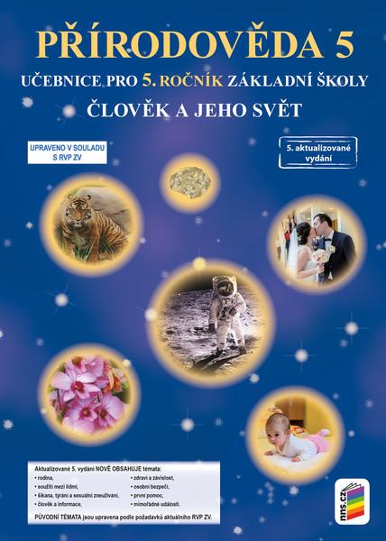 Přírodověda 5.r. - Člověk a jeho svět - učebnice