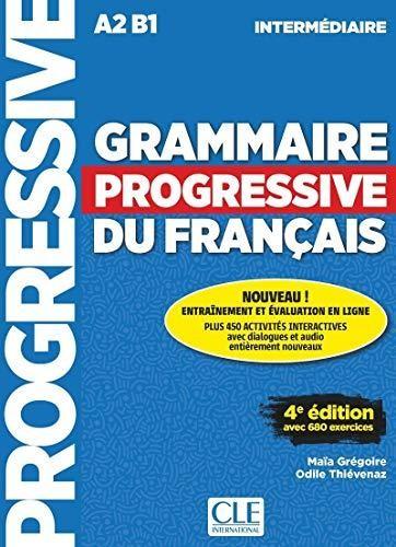 Grammaire Progressive du Francais - Niveau intermédiaire - Livre (kniha)