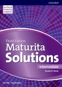 Maturita Solutions 3rd Edition Intermediate Student's Book (Czech Edition)