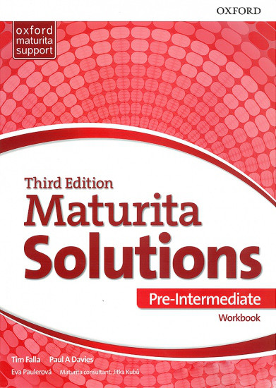 Maturita Solutions 3rd Edition Pre-intermediate Workbook (Czech Edition)
