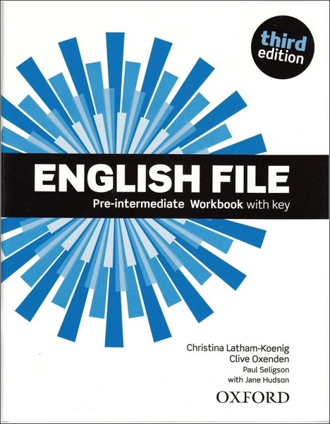 English File Third Edition Pre-intermediate Workbook vith key