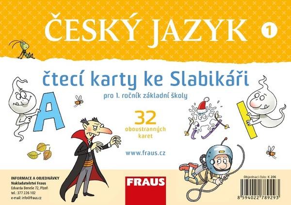 Slabikář - Čtecí karty pro 1.r. ZŠ (nová generace)