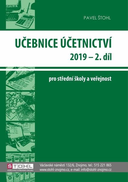 Učebnice Účetnictví pro SŠ a veřejnost 2019 - 2. díl