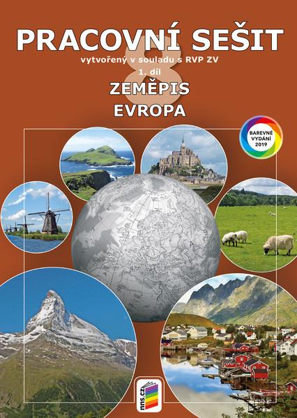 Zeměpis 8.r. 1. díl - Pracovní sešit barevný (Evropa)