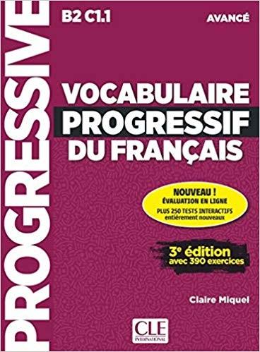 Vocabulaire Progressif du Francais - Niveau avancé - Livre (kniha)